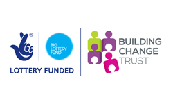 Logo of Big Lottery Fund and Building Change Trust